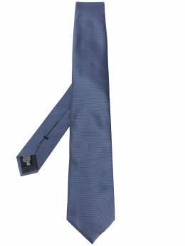 Emporio Armani однотонный галстук 3400759P300