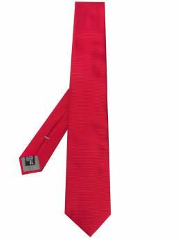 Emporio Armani галстук в рубчик 3400759P300