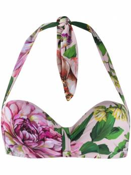 Dolce&Gabbana лиф бикини с цветочным принтом O1A23JFSGS8