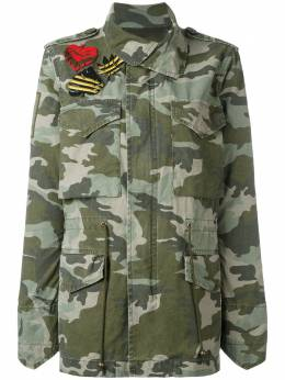 Mr & Mrs Italy куртка в стиле милитари с камуфляжным принтом JK017E