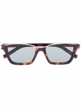 Saint Laurent Eyewear солнцезащитные очки черепаховой расцветки SL365DYLAN