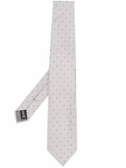 Emporio Armani галстук в мелкую точку 3400750P330