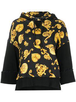 Versace Jeans Couture худи с принтом Baroque B6HVB799SN500