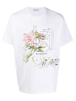 Givenchy футболка с принтом BM70WK3002