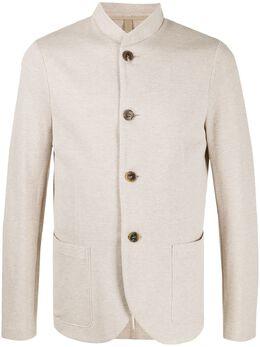 Harris Wharf London пиджак из ткани пике C9427PGE