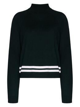 Lndr Green Arctic knit high-neck sweater KN899025