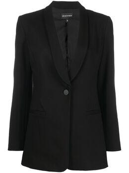 Emporio Armani однобортный пиджак-смокинг 3H2G6B2JVUZ