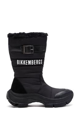Черные дутые сапоги Bikkembergs 1487185076
