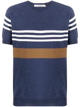 La Fileria For D'Aniello полосатый свитер с круглым вырезом 5716120622