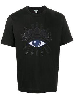 Kenzo футболка с принтом FA55TS0864YM