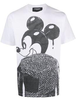 Domrebel футболка с принтом Mickey Mouse MICKBOXT