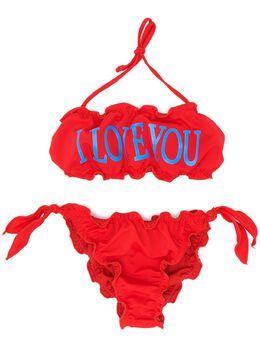 Alberta Ferretti Kids бикини I Love You 022170