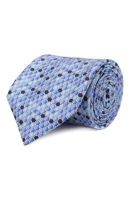 Шелковый галстук Zilli 50544/TIES