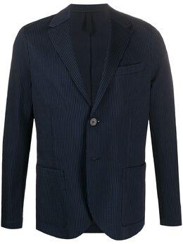 Harris Wharf London пиджак в полоску C8G22PDK