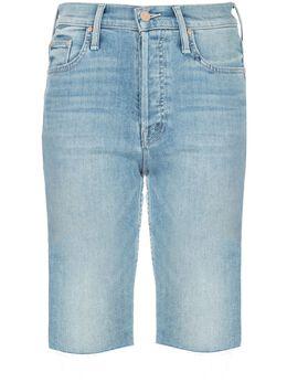 Mother джинсовые шорты скинни Tomcat 4382