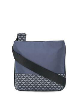 Emporio Armani сумка-мессенджер на молнии с логотипом Y4M203YME4J