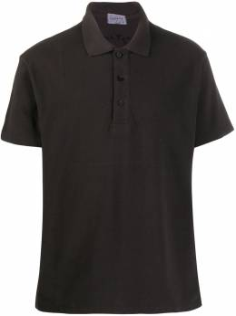 Yohji Yamamoto рубашка-поло с короткими рукавами HNT50550