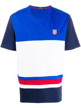 Polo Ralph Lauren футболка в стиле колор-блок 710791714