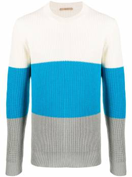Roberto Collina colour block ribbed jumper RC27001