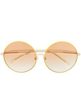 Linda Farrow солнцезащитные очки Posy в круглой оправе из коллаборации с Matthew Williamson MW260C2SUN