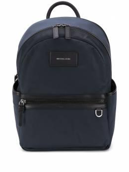 Michael Kors Collection logo-patch medium backpack 33F9LBNB2U086