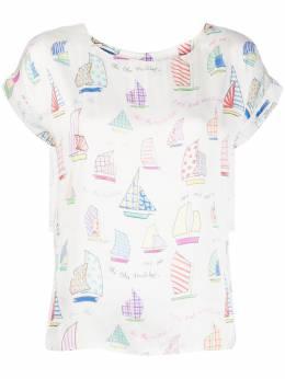 Mira Mikati футболка с принтом TOP036SS20