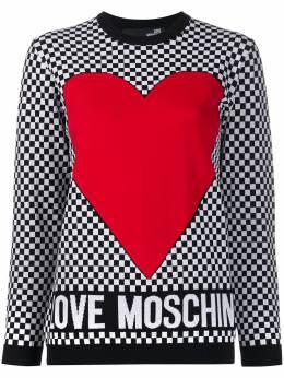 Love Moschino джемпер с принтом WS07G10X1340
