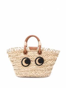 Anya Hindmarch Eyes small basket tote SS200188145084