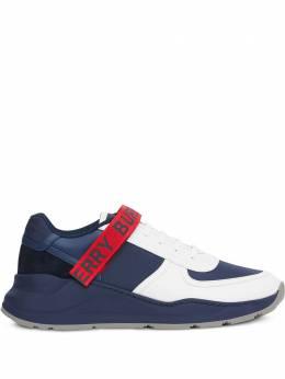 Burberry кроссовки с логотипом 8024078