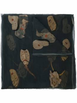 Uma Wang шарф с принтом UA0228UW329