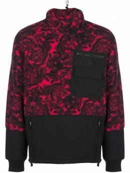The North Face флисовый свитер с воротником-воронкой NF0A3XARF2X