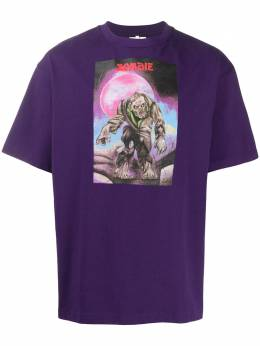 Acne Studios футболка с принтом Monster BL0180