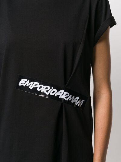 Emporio Armani футболка с логотипом 3H2T7L2J53Z - 5