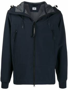 C.P. Company soft-shell hooded jacket 08CMOW017A005659A
