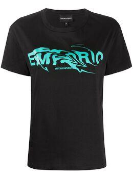 Emporio Armani футболка с логотипом 3H2T7G2J30Z