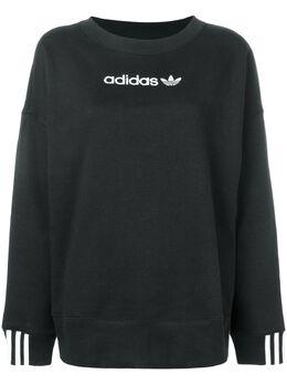 Adidas свитшот с контрастным логотипом DU7193