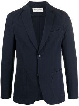Officine Generale однобортный пиджак узкого кроя S20MTLG403R