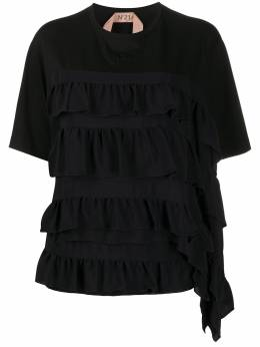 No. 21 футболка с оборками 20EN2M0F0214157