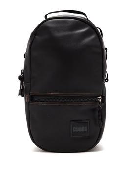 Черный кожаный рюкзак Pacer Coach 2219189179