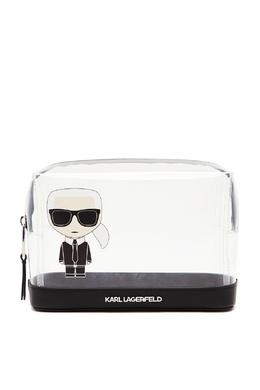 Прозрачная косметичка K/Ikonik Karl Lagerfeld 682189088