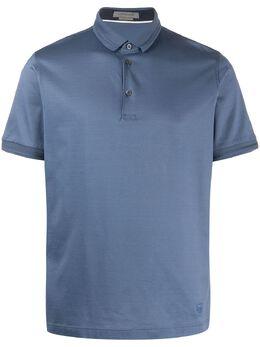 Corneliani однотонная рубашка-поло 00G5010025000
