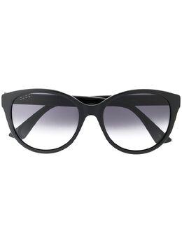 Gucci Eyewear солнцезащитные очки GG0631S в круглой оправе GG0631S001