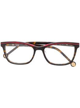 Ch Carolina Herrera очки в прямоугольной оправе VHE836L