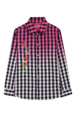 Хлопковая рубашка Jacob Cohen J3017 T-30004-V