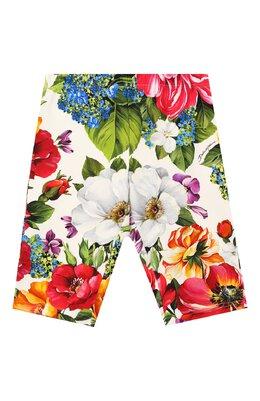 Хлопковые шорты Dolce&Gabbana L5JP6N/FSGS9/8-14