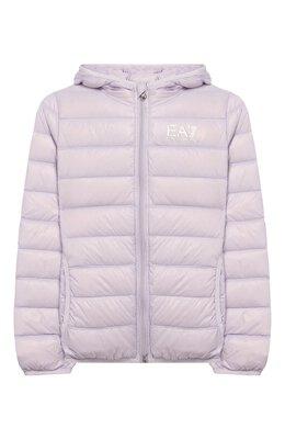 Пуховая куртка с капюшоном Ea7 8NBB34/BN29Z