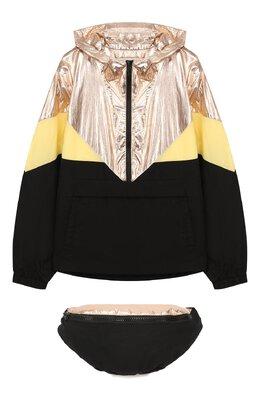 Комплект из куртки и поясной сумки Les Coyotes De Paris 111-11-077
