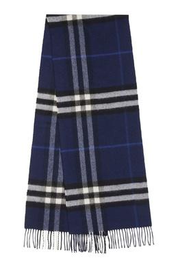 Классический шарф в клетку из кашемира Burberry 10188596