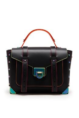 Черная сумка с неоновой отделкой Manhattan MICHAEL Michael Kors 984189245