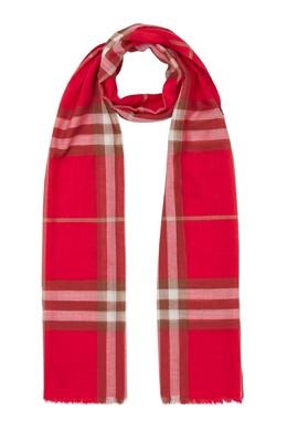 Легкий шарф в алых тонах Burberry 10188604